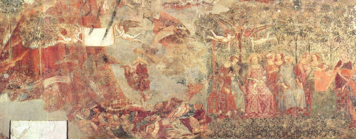 Le triomphe de la mort du co santo à pise